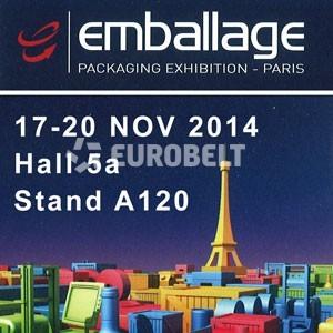 EMBALLAGE 2014, 17 – 20 NOVIEMBRE / PARIS (FRANCIA)